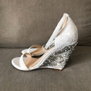 Betsey Johnson wedge heels